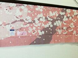 【濱文様・絵手ぬぐい】桜の下で〜春の新柄〜
