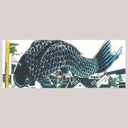 【梨園染てぬぐい】鯉のぼり