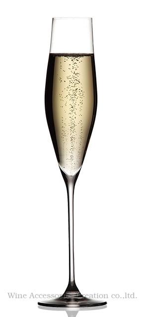 ツル 6oz フルート シャンパーニュ グラス 1脚 ギフト不可