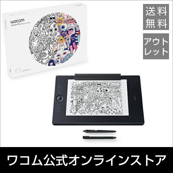 【アウトレット】 Wacom Intuos Pro Paper Edition Large (PTH-860/K1) ワコム ペンタブレット 送料無料