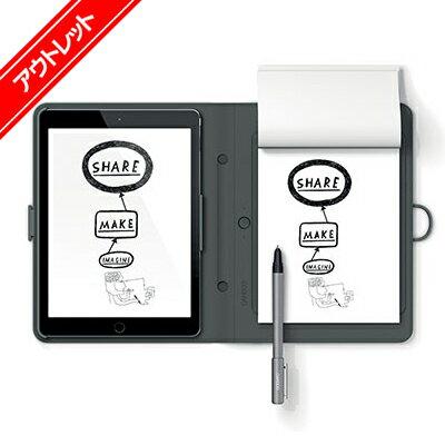 【アウトレット】 Bamboo Spark iPad Air 2 専用 (CDS600CG) ワコム スマートフォリオ デジタルノート