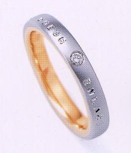 ★NINA RICCI【ニナリッチ】(番外2-5) 6RM902-3マリッジリング・結婚指輪・ペアリング用(1本)