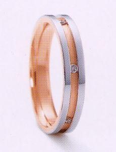 ★NINA RICCI【ニナリッチ】(20)6RM905-3マリッジリング・結婚指輪・ペアリング用(1本)