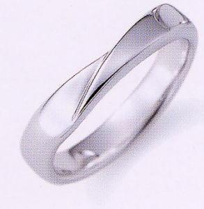★NINA RICCI【ニナリッチ】(38)6RA915-3マリッジリング・結婚指輪・ペアリング用(1本)