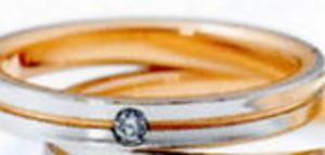 ★NINA RICCI【ニナリッチ】(22)6RM907マリッジリング・結婚指輪・ペアリング用(1本)