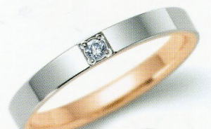 ★NINA RICCI【ニナリッチ】(35)6R1F07マリッジリング・結婚指輪・ペアリング用 (1本)