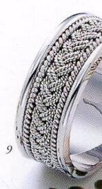 ★Tresoro【トレソロ】(9)01K42 wide 8.0mmマリッジリング・結婚指輪・ペアリング用(1本)