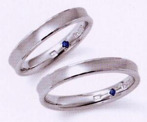 ★お買い得特別価格!!★RomanticBlueロマンティックブルー4RK002(35)&4RK002(36)-2本セット(2本とも同じリングです)マリッジリング・結婚指輪・ペアリング