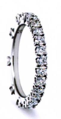 ★NINA RICCI【ニナリッチ】(51)6E007-390%フルエタニティリング・マリッジリング・結婚指輪・ペアリング用(1本)