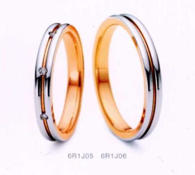 ★NINA RICCI【ニナリッチ】(24)6R1J05ダイヤ&(25)6R1J06-2本セットマリッジリング・結婚指輪・ペアリング