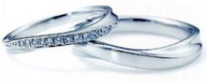 ★NINA RICCI【ニナリッチ】(39)6RB0003-3ダイヤ&(40)6RA0003-3 2本セットマリッジリング・結婚指輪・ペアリング