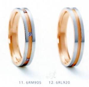 ★NINA RICCI【ニナリッチ】(20)6RM905-3 &(21)6RL920-3(2本セット)マリッジリング・結婚指輪・ペアリング