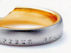 ★NINA RICCI【ニナリッチ】(番外2-4)6RL913-3マリッジリング・結婚指輪・ペアリング用(1本)