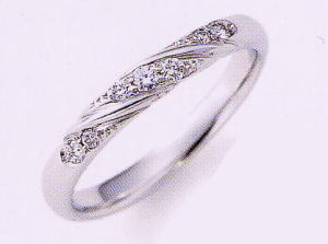 ★NINA RICCI【ニナリッチ】(7)6RB067-3マリッジリング・結婚指輪・ペアリング用(1本)