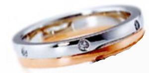 ★NINA RICCI【ニナリッチ】(27)6RM904マリッジリング・結婚指輪・ペアリング用(1本)