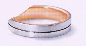 ★NINA RICCI【ニナリッチ】(30)6RL921マリッジリング・結婚指輪・ペアリング用(1本)