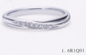 ★NINA RICCI【ニナリッチ】(1)6R1Q01マリッジリング・結婚指輪・ペアリング用(1本)