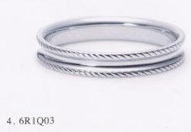★NINA RICCI【ニナリッチ】(8)6R1Q03-3マリッジリング・結婚指輪・ペアリング用(1本)