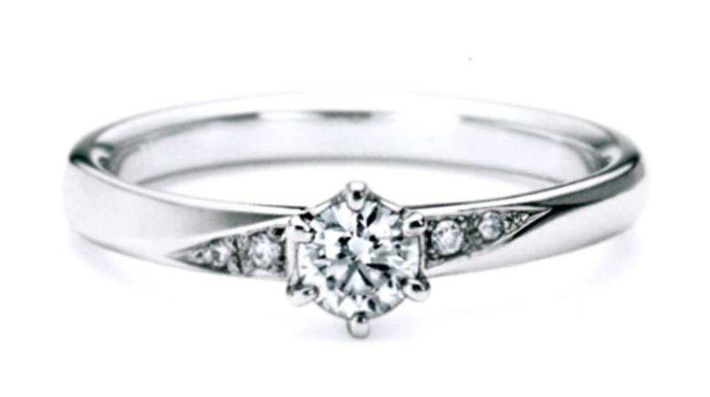 ★NINA RICCI【ニナリッチ】【新製品】6p015エンゲージリング・婚約指輪・ダイヤモンドリング