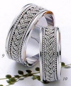 ★Tresoro【トレソロ】(9)01K42&(10)01H42(2本セット) マリッジリング・結婚指輪・ペアリング