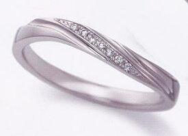 ★お買い得特別価格!!★EBP-9L(ダイヤ付)Enbrasser Purest(アンブラッセ ピュアレスト 純プラチナ Pt-999)マリッジリング、結婚指輪、ペアリング用(1本)