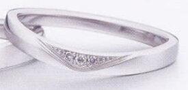 ★お買い得特別価格!!★EBP-16L(ダイヤ付)Enbrasser Purest(アンブラッセ ピュアレスト 純プラチナ Pt-999)マリッジリング、結婚指輪、ペアリング用(1本)