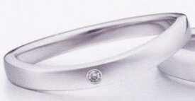 ★お買い得特別価格!!★EBP-4L(ダイヤ付)Enbrasser Purest(アンブラッセ ピュアレスト 純プラチナ Pt-999)マリッジリング、結婚指輪、ペアリング用(1本)