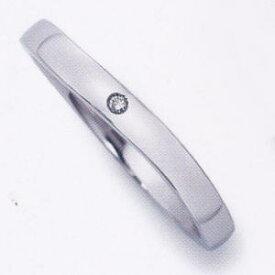 ★お買い得特別価格!!★EBP-11L(ダイヤ付)Enbrasser Purest(アンブラッセ ピュアレスト 純プラチナ Pt-999)マリッジリング、結婚指輪、ペアリング用(1本)
