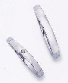 ★お買い得特別価格!!★EBP-11L(ダイヤ付) & EBP-11MEnbrasser Purest(アンブラッセ ピュアレスト 純プラチナ Pt-999)マリッジリング、結婚指輪、ペアリング用(2本)