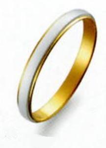 True Love トゥルーラブ)(43) M801 卸直営店 お得な特別割引価格 Pt900 プラチナ & K18YG イエローゴールド マリッジリング 結婚指輪 ペアリング (1本)