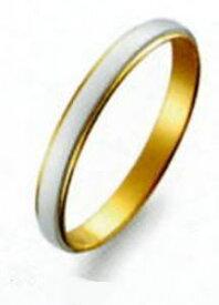 True Love トゥルーラブ)(43) M801-2 卸直営店 お得な特別割引価格 Pt900 プラチナ & K18YG イエローゴールド マリッジリング 結婚指輪 ペアリング (1本)
