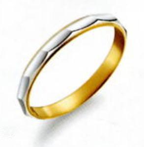 True Love トゥルーラブ (44) M806 卸直営店 お得な特別割引価格 Pt900 プラチナ & K18YG イエローゴールド マリッジリング 結婚指輪 ペアリング (1本)