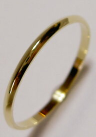 K18PG ピンクゴールド SLIM(スリム 1.5mm幅)な結婚指輪、マリッジリング、ペアリング(1本)