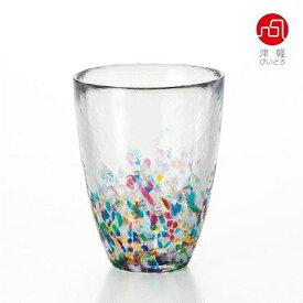 石塚硝子 ISHIZUKA GLASS アデリアグラス ADERIA GLASS 津軽びいどろ NEBUTA ねぶたタンブラー F71168 300ml【あす楽対応】