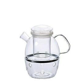 石塚硝子 ISHIZUKA GLASS アデリアグラス ADERIA GLASS ボダム ディーポット&ウォーマーセット HS574