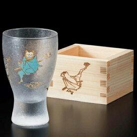 石塚硝子 ISHIZUKA GLASS アデリアグラス ADERIA GLASS LUCKY ANIMALS枡酒グラス ラッキーアニマルズ タンブラー 100ml こうもり 6781 ねこ 6782 きんぎょ 6783 うさぎ 6784 かえる 6785 さる 6786