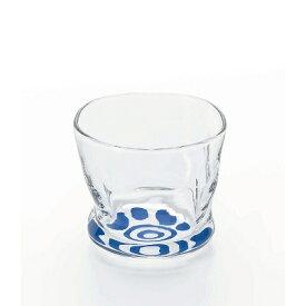 石塚硝子 ISHIZUKA GLASS アデリアグラス ADERIA GLASS 利き猪口 nikuQ 馴染みグラス 6896 100ml 猫 肉球 おちょこ
