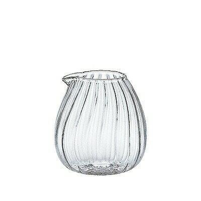 【エントリーでポイント5倍中!】石塚硝子 ISHIZUKA GLASS アデリアグラス ADERIA GLASS たのしみの器 耐熱 ミニピッチャー 卵 モール F37417【あす楽対応】