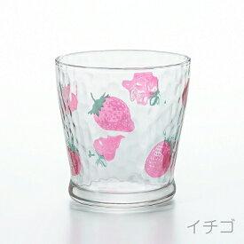 石塚硝子 ISHIZUKA GLASS アデリアグラス ADERIA GLASS fruits dorops フルーツドロップ フリーカップ 275ml タンブラー 6122 イチゴ 6125 レモン