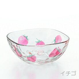 石塚硝子 ISHIZUKA GLASS アデリアグラス ADERIA GLASS fruits dorops フルーツドロップ スクエアボウル 6124 小鉢