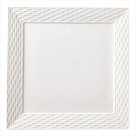桐井陶器 フルーレット 36.5cmスクエアプレート S035-EP014