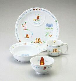 NARUMI ナルミ みんなでたべよっ! 幼児セット 40433-33139 プレート ポリッジボウル マグカップ 飯茶碗 子供食器
