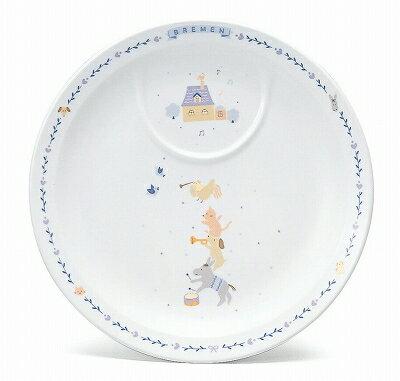 NARUMI ナルミ ブレーメン プレート(ブルー) 22cm 7980-1012 子供食器 大皿