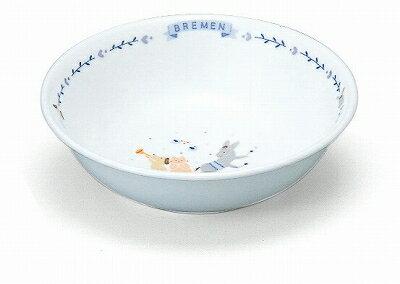 NARUMI ナルミ ブレーメン おやつ皿(ブルー) 240cc 7980-1014 子供食器 中皿