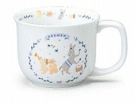 NARUMI ナルミ ブレーメン マグカップ(ブルー) 210cc 7980-2499 子供食器【あす楽対応】
