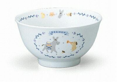 NARUMI ナルミ ブレーメン 飯茶碗(ブルー) 240cc 7980-3321 子供食器