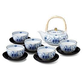 NARUMI ナルミ ミラノ 茶器揃い(茶托付) 9682-23031 湯呑み 土瓶