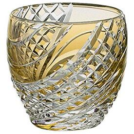 KAGAMI CRYSTAL カガミクリスタル 冷酒杯(魚子流し紋) 80cc 盃 黄 T535-2044CUM 緑 T535-2044CGR 紫 T535-2044CMP