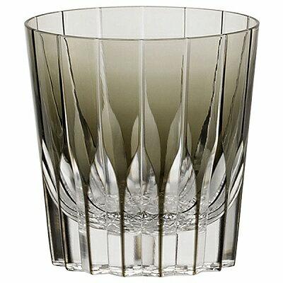 KAGAMI CRYSTAL カガミクリスタル ロックグラス 320cc T705-2818BLK 焼酎グラス NARUMI ナルミ