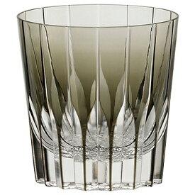 KAGAMI CRYSTAL カガミクリスタル ロックグラス 320cc T705-2818BLK 焼酎グラス